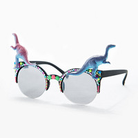 Spangled Dinosaur Glasses - Urban Outfitters