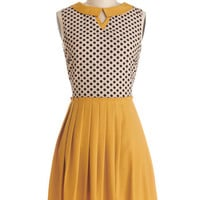 Curious Columnist Dress | Mod Retro Vintage Dresses | ModCloth.com