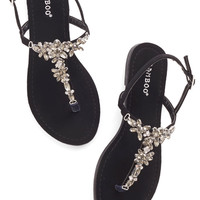 Shine Like You Mean It Sandal in Black | Mod Retro Vintage Sandals | ModCloth.com