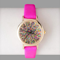LAS VEGAS GLITTER WATCH