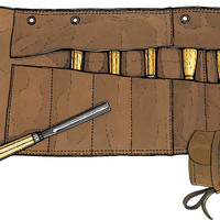 Tool Roll - Leather Tool Roll - Duluth Trading Company