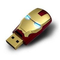 2012 Marvel Avengers Movie Iron Man Mark IV 8GB USB2.0 Flash Drive Tony Stark