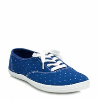 Speckled Dot Canvas Sneakers