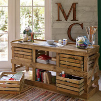 San Marcos Crate Sideboard 