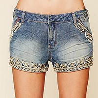 Majestic Detail Short