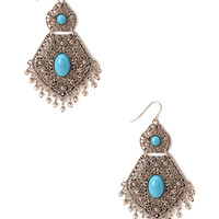 Heirloom Filigree Drop Earrings