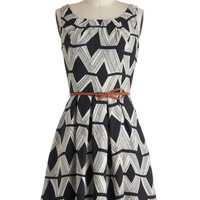 Graphic Gourmet Dress Diamonds