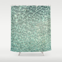 Shattered Shower Curtain by RichCaspian