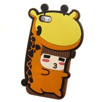 Cartoon Animals / Snow White Phone Shell Case for Iphone4/4s