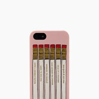 pencil case resin iphone 5 case - kate spade new york