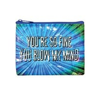 You&#x27;re So Fine You Blow My Mind Coin Purse - 95% Recycled
