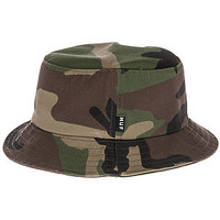 The Classic Bucket Hat in Woodland Camo