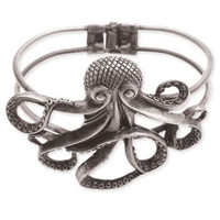 ModCloth Statement My Pet Octopus Bracelet