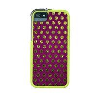 iPhone 5/5S Case Polka Dot Sparkley Jewels