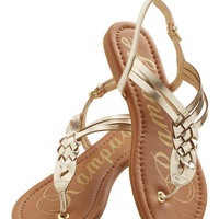 Plait Night Sandal