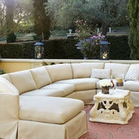 Outdoor Upholstered Sectional - Horchow