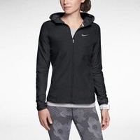 The Nike Distance Women's Running Jacket.