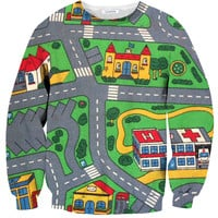 Carpet Track Sweater
