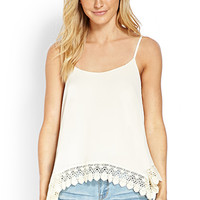 Crocheted Trapeze Cami