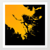 Reaching for the Light Art Print by Texnotropio