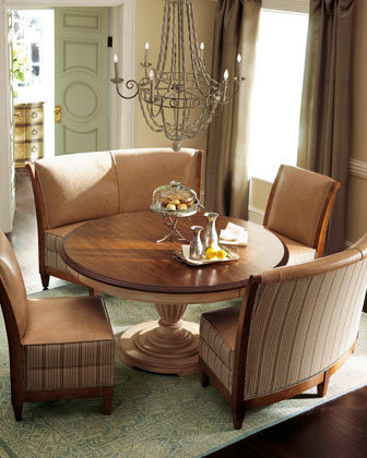 Linen Dining Furniture - Horchow
