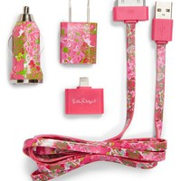 Lilly Pulitzer® 'Beach Rose' iPhone Charging Kit | Nordstrom