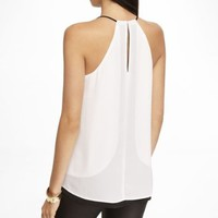 COLOR BLOCK REVERSIBLE V-NECK CAMI