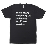 I liked this design on #Fab. Famous For Fifteen Men's Tee
