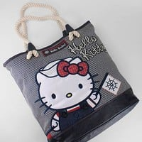 hello kitty nautical tote &amp;#36;70.00 in NVYCRM - Hello Kitty | GoJane.com