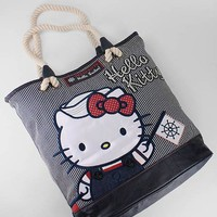 hello kitty nautical tote $70.00 in NVYCRM - Hello Kitty | GoJane.com