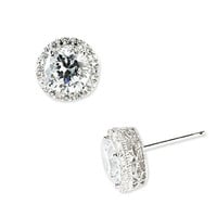 Nordstrom Pavé Round Stud Earrings | Nordstrom