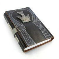Blank Journal - Leather Notebook with Drawing Paper - Ancient | Baghy - Paper/Books on ArtFire