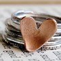 Sweet Romance  Sterling Silver Stacking Rings by MintyFreshFusions