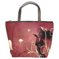 The Wings Of Love Bucket Handbag