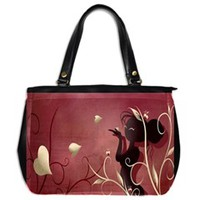 The Wings Of Love Oversize Office Handbag (One Side)