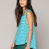 Free People We The Free Stripe Beach House Tank