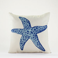 Star Fish Throw Pillow | Outdoor and Patio Decor| Home Decor | World Market