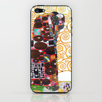 Love & Fulfillment - Gustav Klimt iPhone & iPod Skin by BeautifulHomes