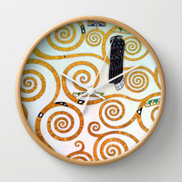 Gustav Klimt Tree of Life  Wall Clock by BeautifulHomes