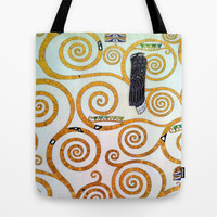 Gustav Klimt Tree of Life  Tote Bag by BeautifulHomes