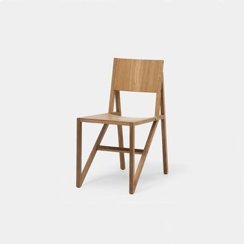 Frame Chair Oiled, Set of Two - SIDE - SEATING