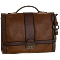 Fossil Vintage Re-Issue Flap Satchel - designer shoes, handbags, jewelry, watches, and fashion accessories | endless.com
