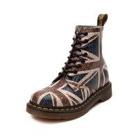 Womens Dr. Martens 8-Eye Union Jack Boot