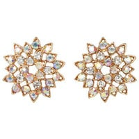Rhinestone In Bloom Earrings
