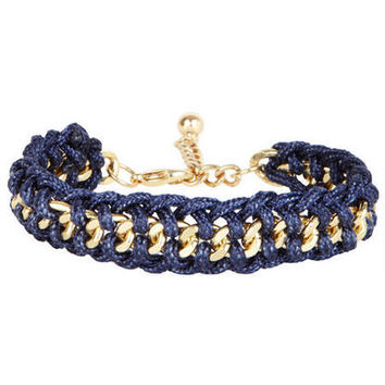 Braided Thread/Chain Bracelet -