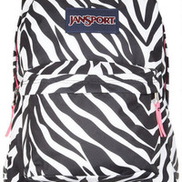 Jansport Backpack Zebra