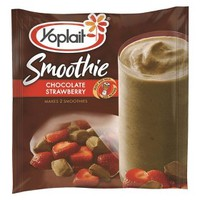 Yoplait Chocolate Strawberry Smoothie