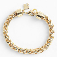 kate spade new york 'learn the ropes' link bracelet | Nordstrom