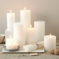 Unscented Candles