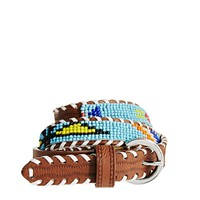 ASOS Sead Bead Geo-Tribal Waist Belt